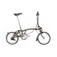 Brompton M6L Raw Lacquer Folding Bike - 2020