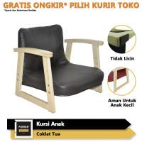 FUNIKA PRIME 35526 CT - Kursi Belajar Anak Kids Chair - Coklat Tua