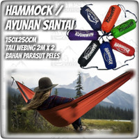 Hammock Lontong/ Ayunan Gantung Camping Single / Hammock Camping