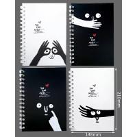 Buku Tulis Model Ring Cover Lucu B005
