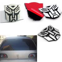 Stiker sticker emblem transformers Edition 3D Warna Metal motor mobil