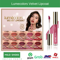 Lumecolors Lipcoat Lipmatte Lip Matte Kissproof Tahan Lama