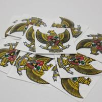 Stiker sticker emblem garuda pancasila indonesia 3D motor mobil helm