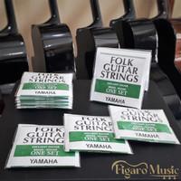 Senar Gitar Akustik Yamaha Folk Guitar Strings - 1 Set