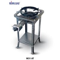 Kompor Winn Gas W 31 AT Kaki Tinggi Low Pressure