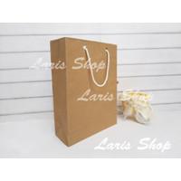 Paperbag Paper Bag Coklat Souvenir Ulang Tahun Kado Goodie Bag Kecil
