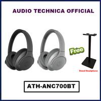 Audio Technica ATH ANC700BT Wireles Noise Cancelling Headphones ANC700 - Abu-abu