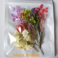 Bunga Kering Alami untuk Lilin Aromaterapi Epoxy Resin