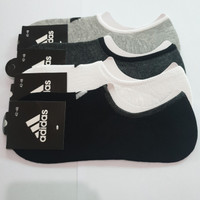 Kaos Kaki Adidas Pendek Pria Wanita Sock Olahraga