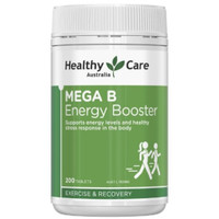 healthy care Mega B energy booster 200tablet