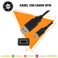 Cabel USB Canon 5pin Standar- kabel Data For Canon EOS DSLR DLL