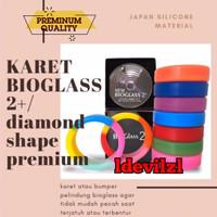 karet pelindung Bioglass 2+