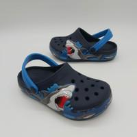 Sendal Crocs Anak Crocs Baby Shark Original