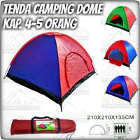 Tenda camping Ultralight / Tenda Dome Kap 4-5 Orang Single Layer