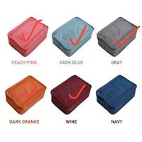 Korea Colorful shoes pouch travel ver 3 / tas sepatu / bag organizer
