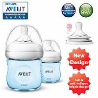 Philips Avent Natural 125ML/4oz/ Botol Susu Avent Twin Pack