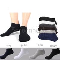 Kaos Kaki Pendek Pria & Wanita / Ankle Socks - Putih