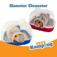 Tempat mandi pasir Hamster toilet Hamster Cleanster syrian