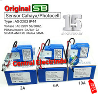 Sensor Cahaya Photo Foto Cell SB 3A/6A/10A (model Selcon). - 3A