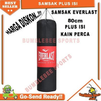 Paket Samsak Tinju 80cm Plus Isi Sansak Muay Thai - Muaythai MMA