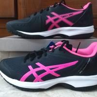 Sepatu Tenis Wanita asics Gel-Court Speed Black Pink sz 40