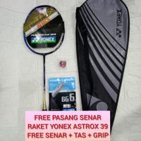 RAKET BADMINTON YONES ASTROX 39 (NEW) FREE SENAR, GRIP, TAS