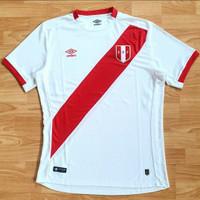 Jersey Negara Peru Player Issue Home 2018 Original Baju Bola Amerika