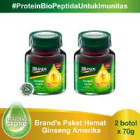 Brand's Paket Hemat Ginseng Amerika (2 botol)