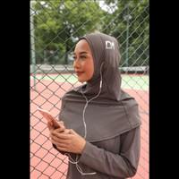 Hijab Sport Handsfree Earphone Diario Active