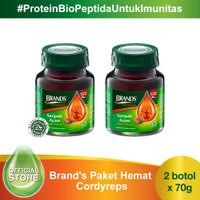 Brand's Paket Hemat Cordyceps (2 botol)