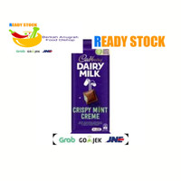 Cadbury Dairy Milk Indulge With Crispy Mint Creme Family Block 180g