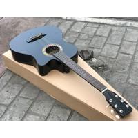 Gitar Akustik Murah Hitam