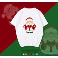 SANTA CLAUS / SINTERKLAS / NATAL T-Shirt / KAOS OVERSIZE UNISEX FIT XL