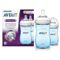 Philips Avent Natural 260ML/9oz / Botol Susu Avent Twin Pack