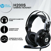 Gaming Headset HP H200S PC Mobile Wired Single Jack H-200S