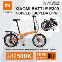Xiaomi Battle E300 7-speed Folding Bicycle Sepeda Lipat