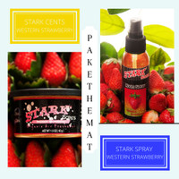 STARK Parfum pewangi pengharum mobil aroma Strawberry (Paket Murah)