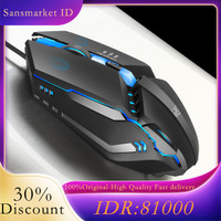 Gaming mouse office mouse high-performance gaming mouse wired mouse - Biru