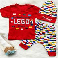 Baju Setelan Bayi - Baju Anak Bayi Laki - Baju Bayi Lucu -bab