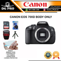 Canon Eos 700D Body Only DSLR Camera 700 D