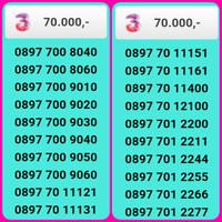 NOMOR CANTIK TRI 4G 11 DIGIT banyak pilihan ,6