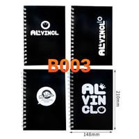 Buku Tulis Model Ring Cover Lucu B003
