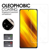 Tempered Glass Screen POCO X3 NFC Clear Anti Gores Layar Bening
