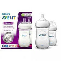 Philips Avent Natural 260ML/9oz / Botol Susu Twin Pack