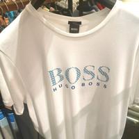 HUGO BOSS BASIC logo White Tshirt AUTHENTIC!