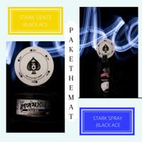STARK Parfum pewangi pengharum mobil BLACK ACE (Paket Murah)