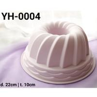 YH-0004 Loyang silikon cetakan silikon cetakan puding chiffon cake