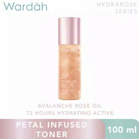 wardah petal infused toner Hydra Rose Series