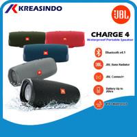 JBL Charge 4 Portable Bluetooth Wireless Waterproof Garansi Resmi IMS