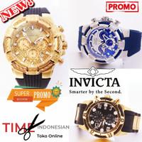 Jam Tangan Pria Merk Invicta Bold Sport Full Stainless Steel 5.0